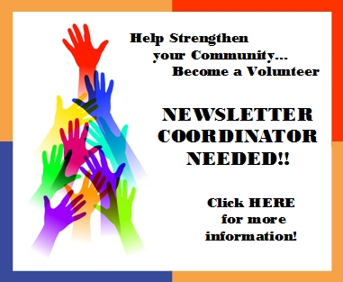 Newsletter Coordinator Needed